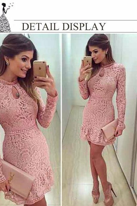 Women Fashion Casual Lace Dress